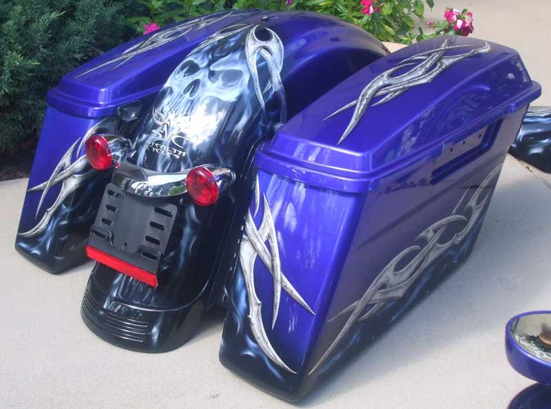 Be Unique Com Custom Bagger Paint Jobs Motorcycles
